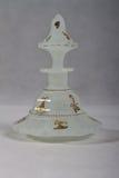 Antike Parfümflasche 1840 - Weiß 1850 Stockfotografie