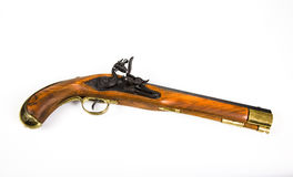 Antike Pistole Lizenzfreies Stockfoto