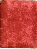Antike Plüschalbumabdeckung Lizenzfreie Stockbilder