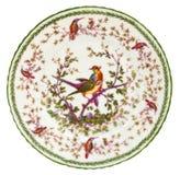 Antike Porzellan-Platte Stockbilder