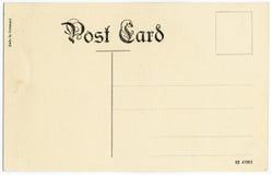 Antike Postkarte Stockbild