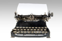 Antike Retro- Schreibmaschine Stockbilder