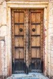 Antike rustikale alte Holztür Lizenzfreies Stockbild