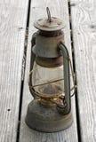 Antike Schmieröl-Lampe stockfotografie
