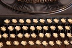 Antike Schreibmaschine ohne Zeichen Stock Abbildung