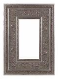 Antike-silberner Bilderrahmen Stockbild