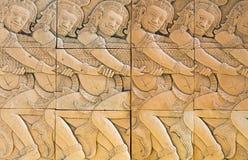 Antike Skulptur des Lehms Lizenzfreies Stockbild