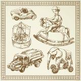 Antike Spielwaren Stockfoto