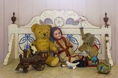 Antike Spielwaren Lizenzfreies Stockfoto