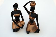 Antike Stammes- Frauen stockbilder