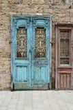 Antike Tür in Jaffa israel Lizenzfreie Stockbilder