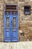 Antike Tür in Jaffa israel Stockfotos