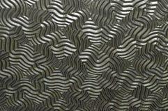 Antike Türscheibe-Platte Stockfoto