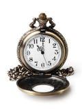 Antike Taschen-Uhr Stockbilder