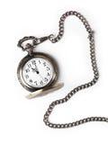 Antike Taschen-Uhr Lizenzfreie Stockfotografie