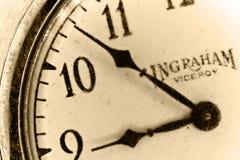 Antike Taschen-Uhr Stockfoto