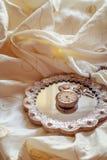Antike Taschen-Uhr Stockfotografie