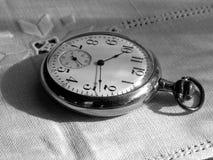 Antike Taschen-Uhr Lizenzfreies Stockbild