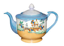 Antike Teekanne Lizenzfreie Stockfotos