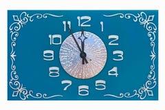 Antike Uhr Stockbilder