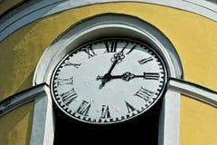 Antike Uhr der Wand Stockfoto