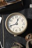 Antike Uhr - 8 Tag, Juwel 7 stockfoto