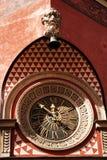 Antike Uhr von Warschau Stockfotos