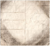 Antike verfallenes Papier (Inc. CLI Stockbild