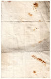 Antike verfallenes Papier (Inc. CLI Lizenzfreie Stockfotos