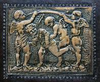 Antike vergoldete Amoren Lizenzfreies Stockfoto