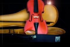Antike Violine stockbild