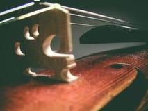 Antike Violine Lizenzfreie Stockbilder