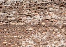 Antike Wand von den Ziegelsteinen in Rom Lizenzfreie Stockfotografie