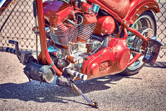 Antike Weinlese und alte Autos lizenzfreie stockfotos