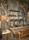 Antike Werkstatt Stockfotografie