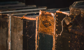 Antikenbücher 5 lizenzfreie stockbilder