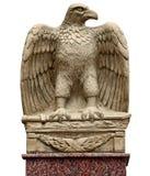 Antikenstatue - Adler mit einer Klinge Stockfotografie