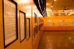Antiker Art And History Gallery stockfotografie