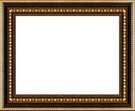 Antiker Bilderrahmen getrennt Lizenzfreie Stockbilder