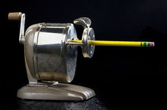 Antiker Bleistiftspitzer. Lizenzfreie Stockfotos
