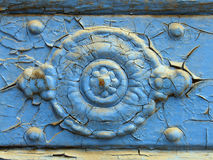 Antiker Blendenverschluß - Nahaufnahme stockbild