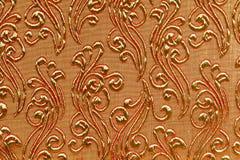 Antiker Blumenmusterhintergrund lizenzfreie stockfotos
