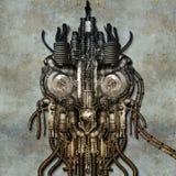 Antiker Cyborg Vektor Abbildung