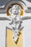 Antiker Dekor im Peterhof Park lizenzfreies stockbild