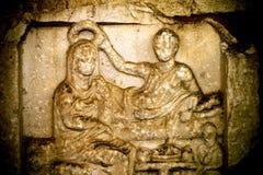 Antiker Grieche Art Barble Background Stockfotos