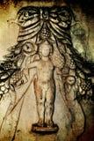 Antiker Grieche Art Barble Background Lizenzfreie Stockbilder