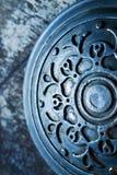 Antiker Hintergrund der Weinlese Metall Stockfotos