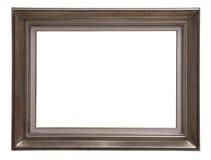 Antiker Holzrahmen stockbild