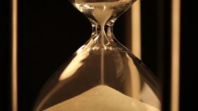 Antiker Hourglass stock footage