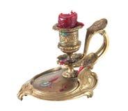 Antiker Kerzenhalter lizenzfreie stockbilder